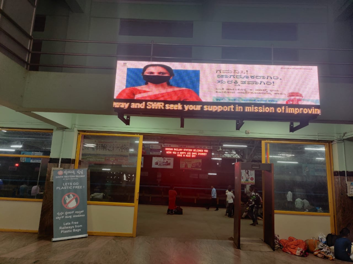 South Western Railway launches awareness campaign against Covid-19