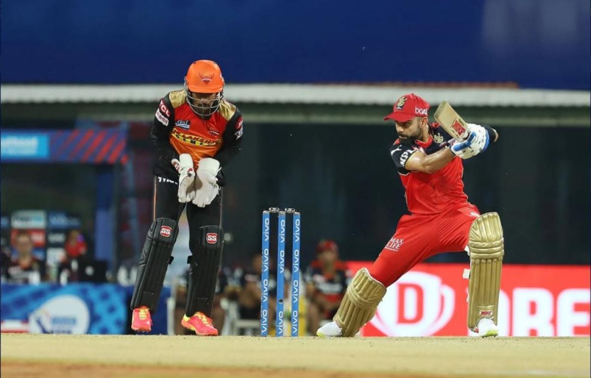 Virat Kohli scored an important 33 while setting the target