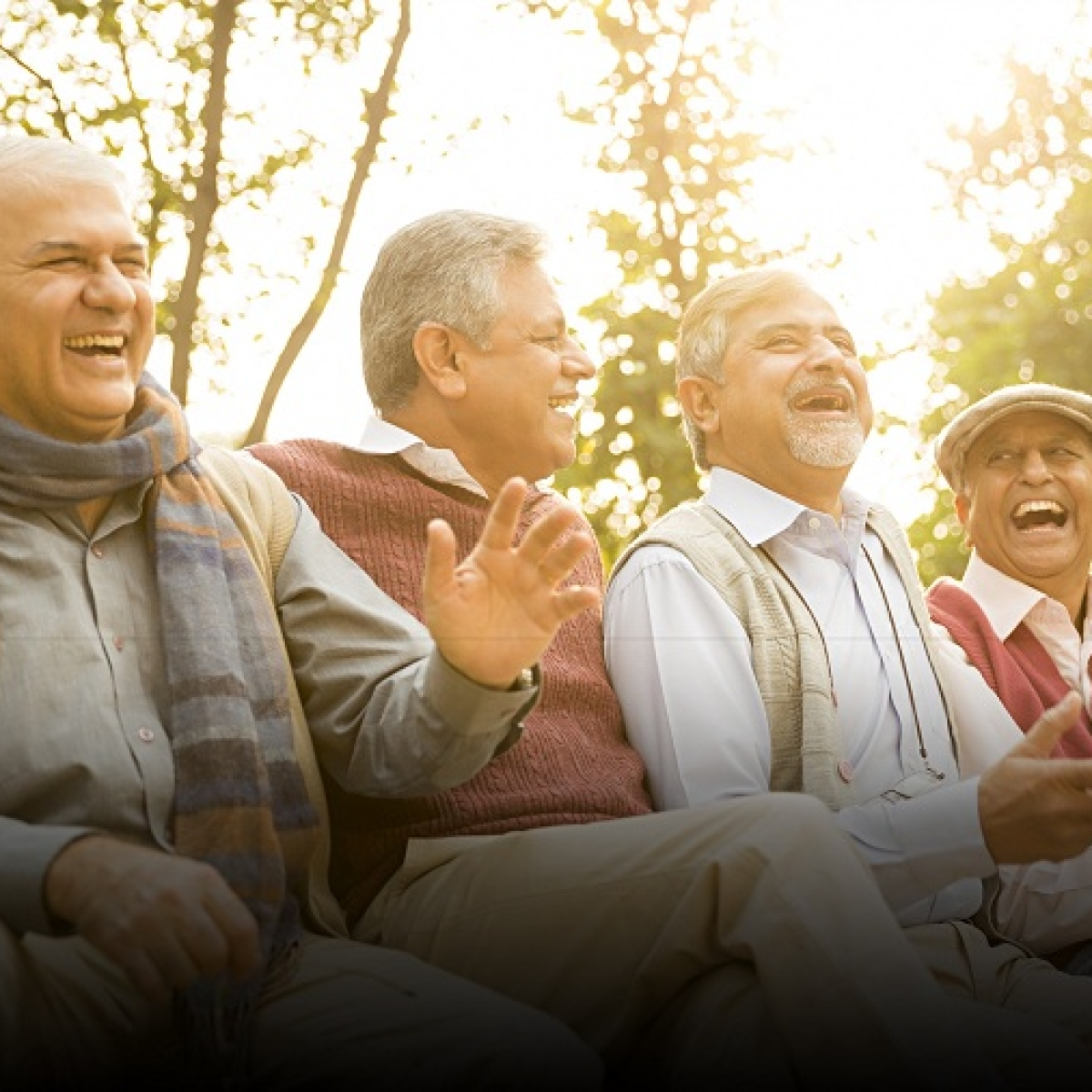 Youngsters take cue: Senior citizens share tips to stay happy and well