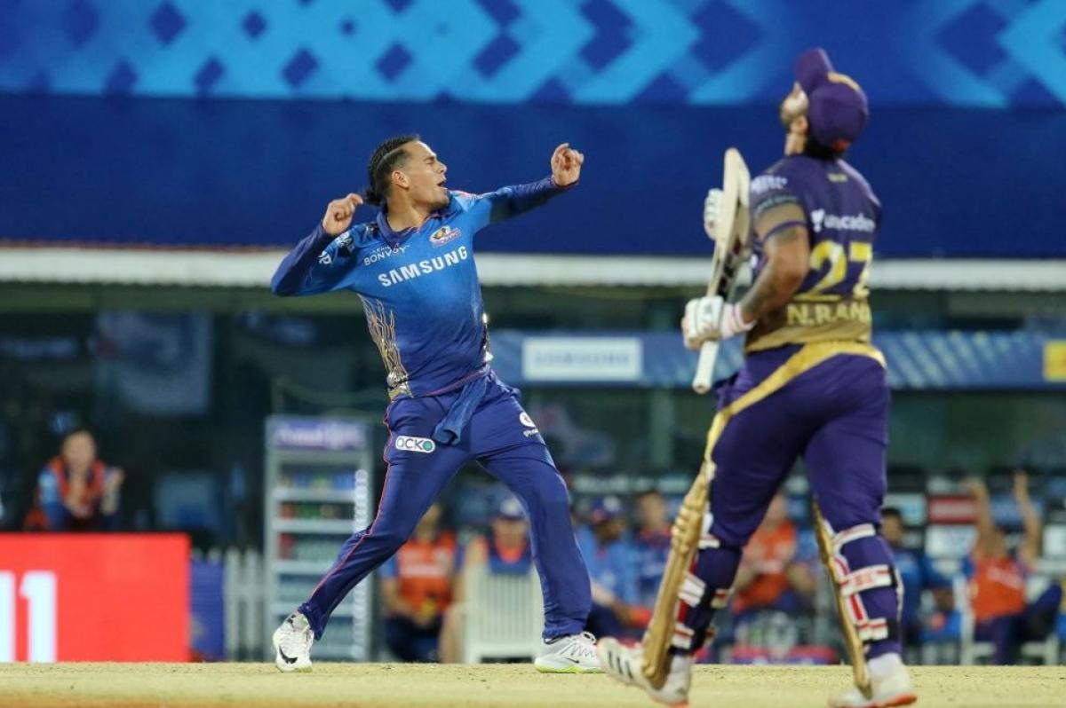 IPL 2021: KKR gift the match to Mumbai Indians
