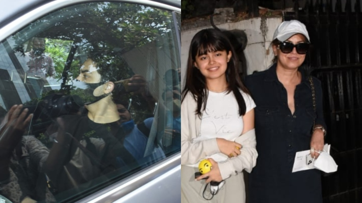 Paparazzi Files: Shah Rukh Khan's son Aryan spotted at YRF studios; Mahima Chaudhary steps out with daughter