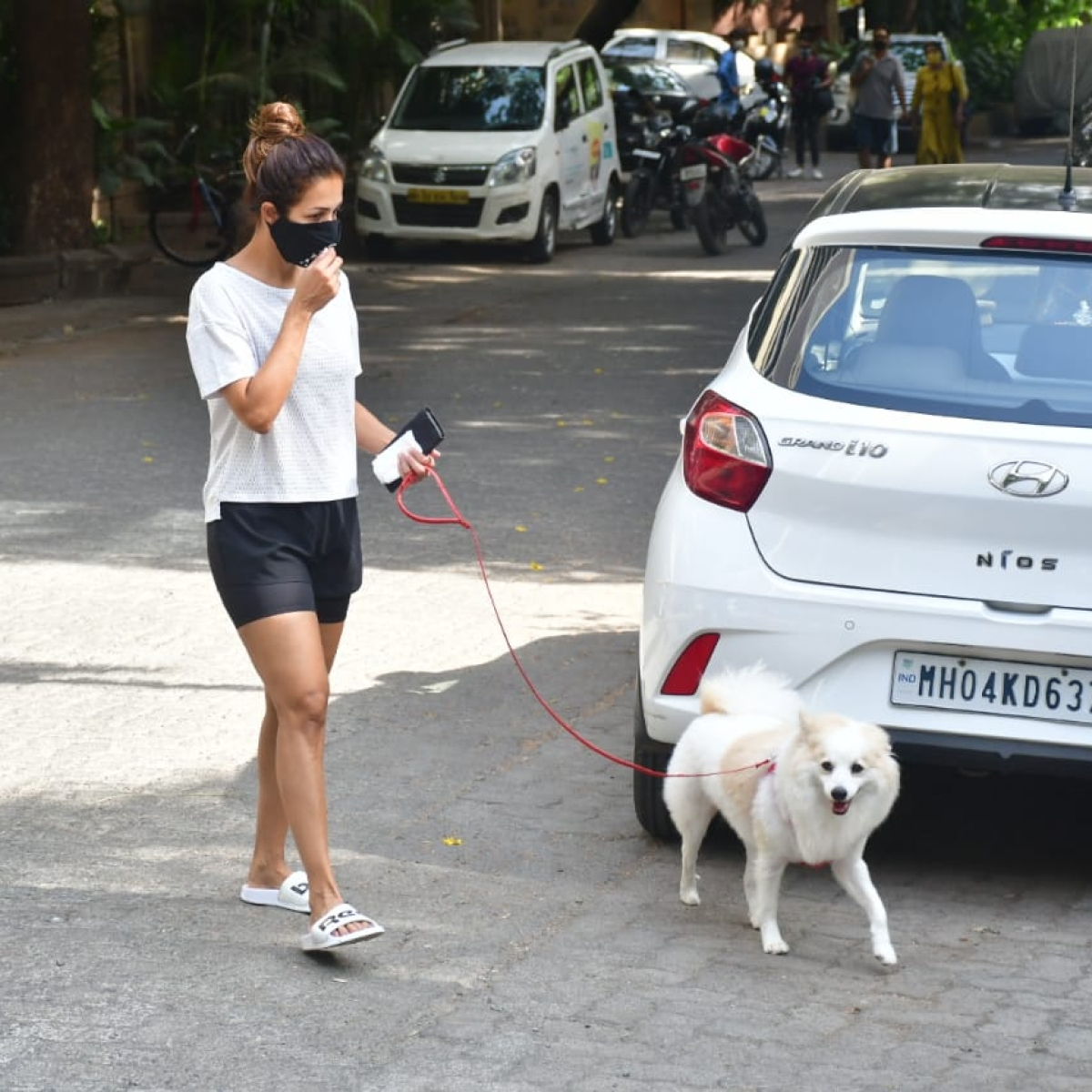 Watch: Malaika Arora trolled for letting her dog pee on a parked car