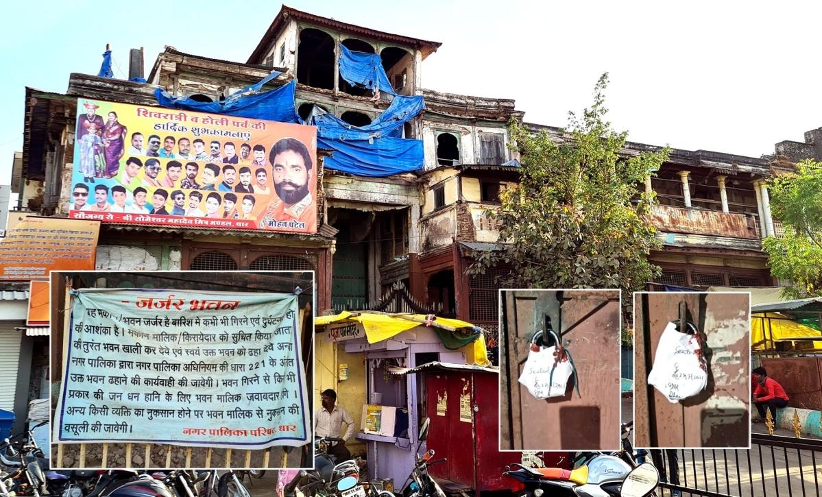 Madhya Pradesh: Administration 'locks up' renovation of Rajwada in Dhar