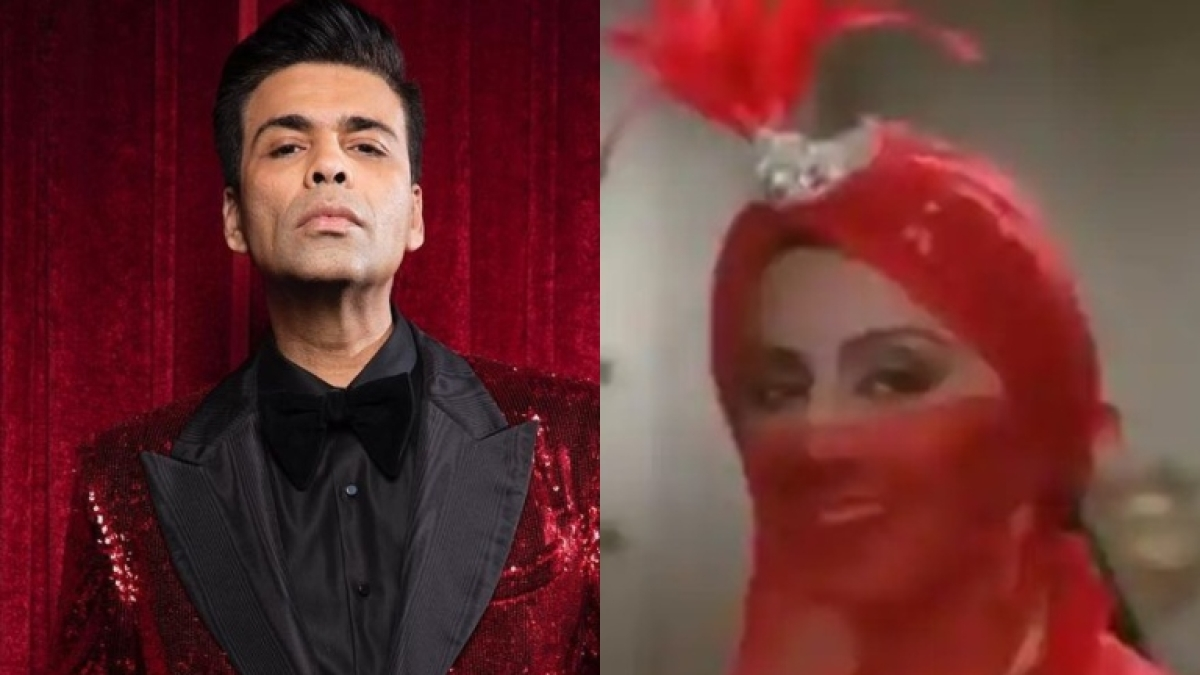 Karan Johar approves Neetu Kapoor's 'bird-like' outfit from 'Tere Chahne Wale Aaye Hain' song for Met Gala