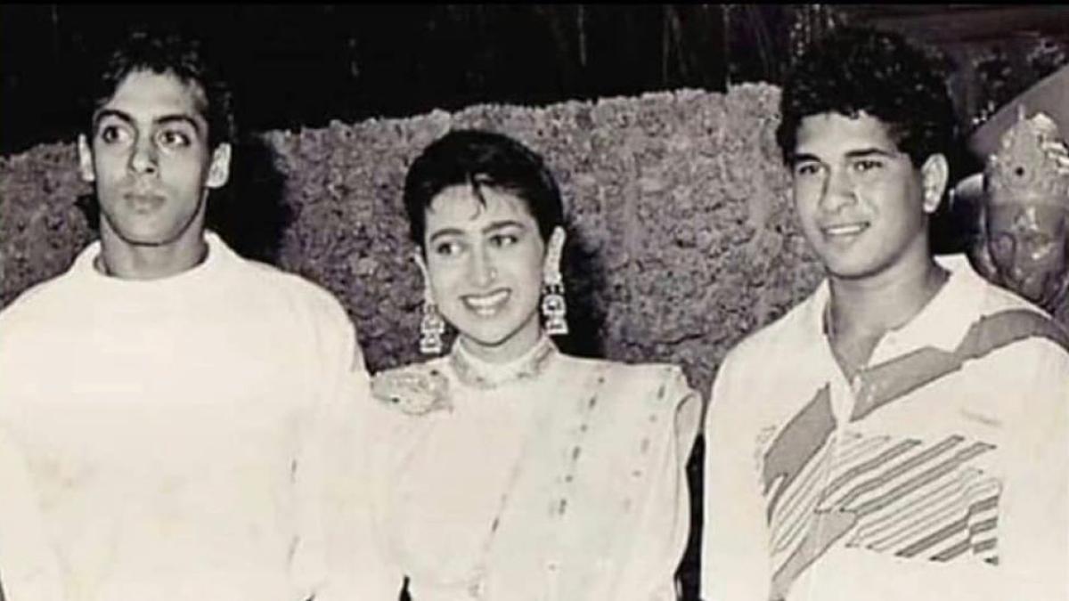 'Time really flies': Karisma Kapoor shares unseen throwback picture to wish Sachin Tendulkar