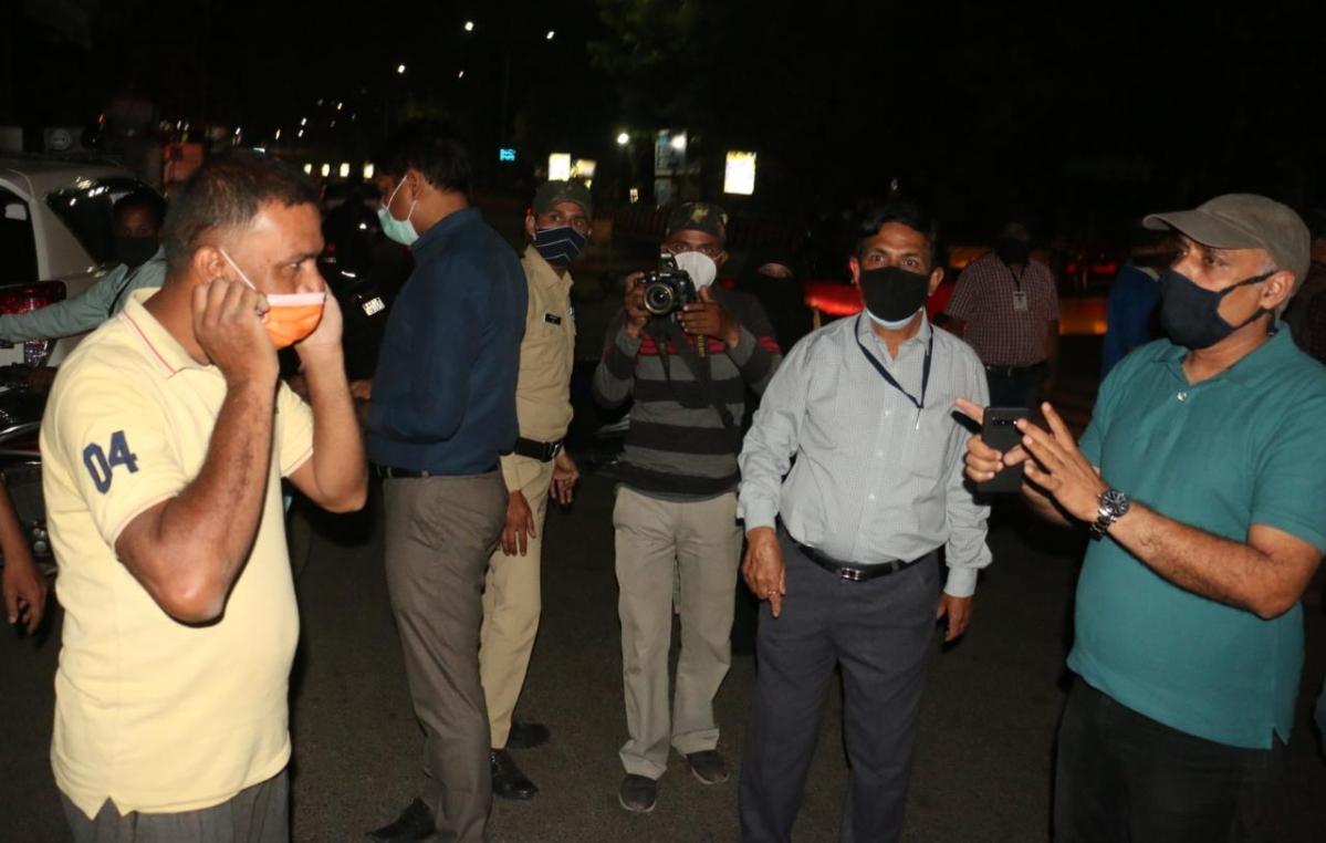 SDM Pawan Jain in action