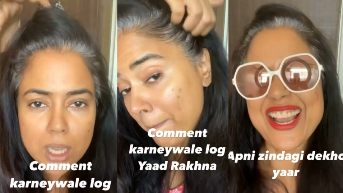 Sameera Reddy, 42, flaunts grey hair in latest video, says 'I will live the way I want'