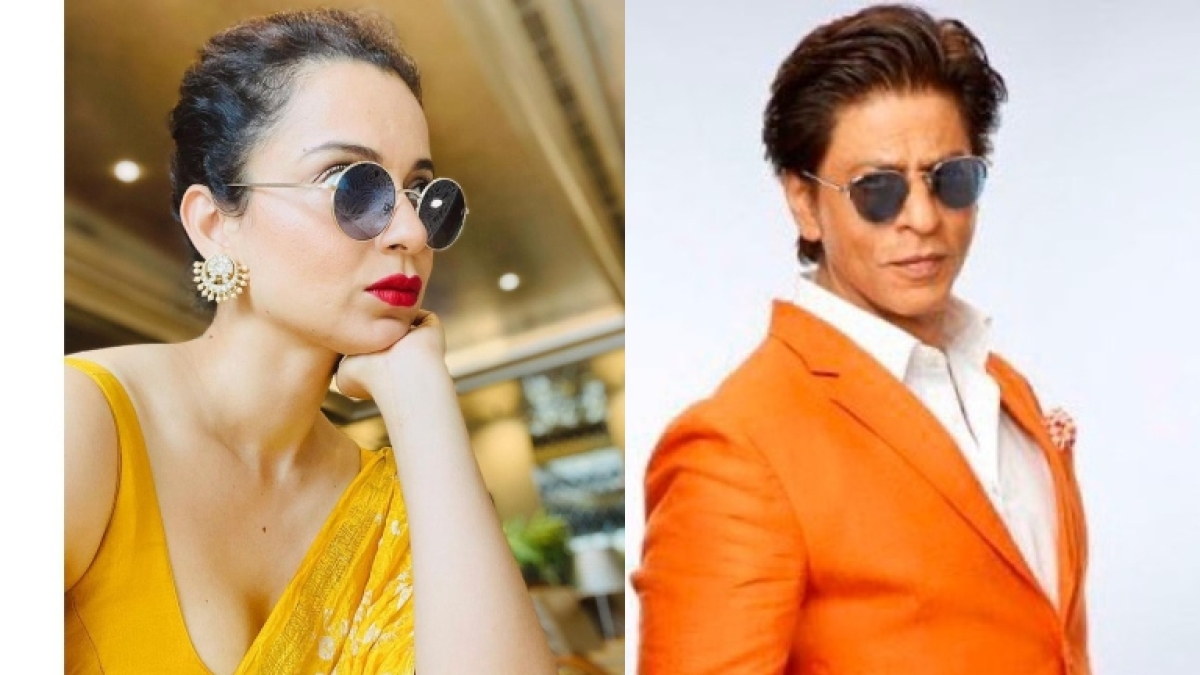 Kangana Ranaut trolled for comparing herself to Shah Rukh Khan; SRKians says 'his story is next level inspiring'