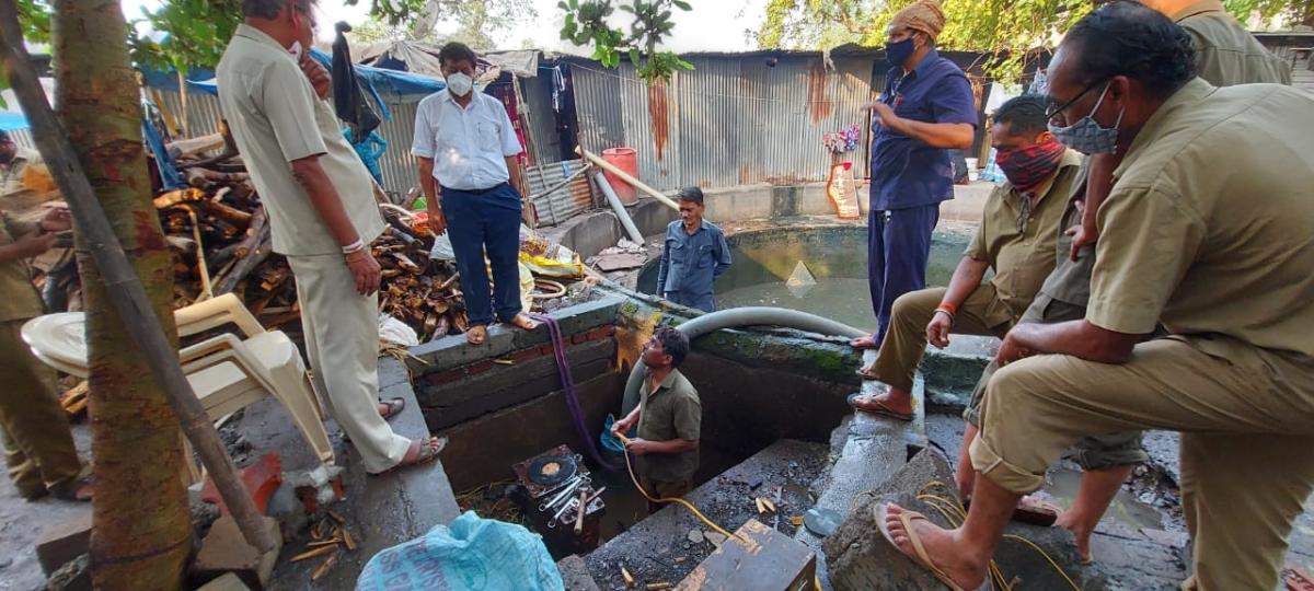 Mumbai: BMC repairs Sewri water pipe leakage within 150 minutes