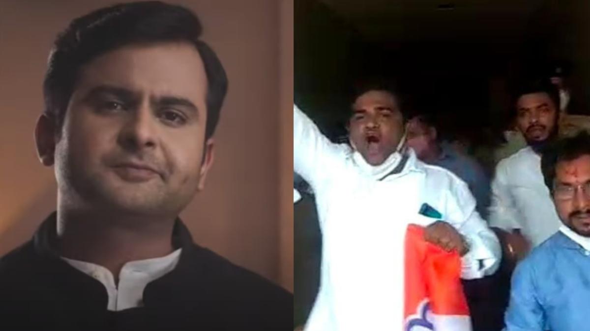 Mumbai: Storia chocolate shake advert 'inspired' by Rahul Gandhi sparks fury; protesting Congress workers detained