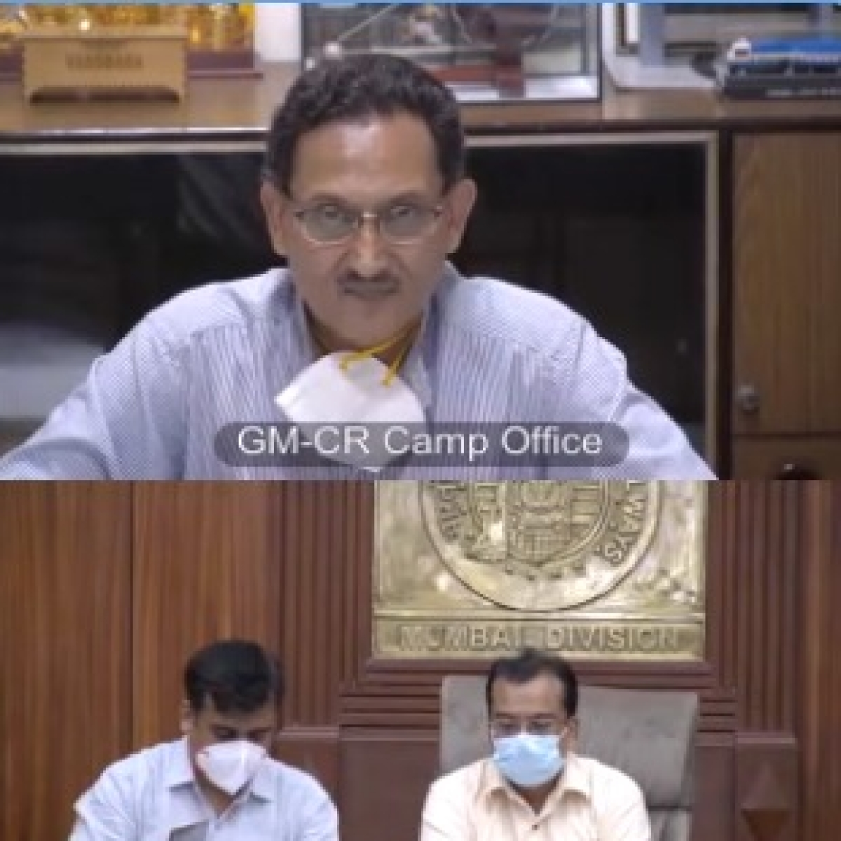 Central Railway GM appeals everyone to avoid sharing old and fake videos and follow COVID-19 appropriate behavior