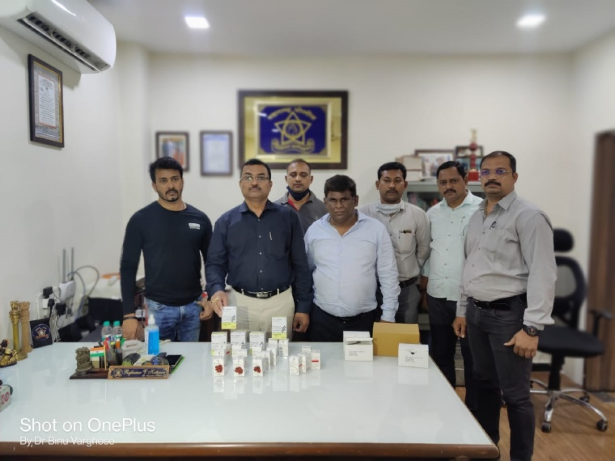 Remdesivir injection black marketing in Thane; crime branch arrest two accused
