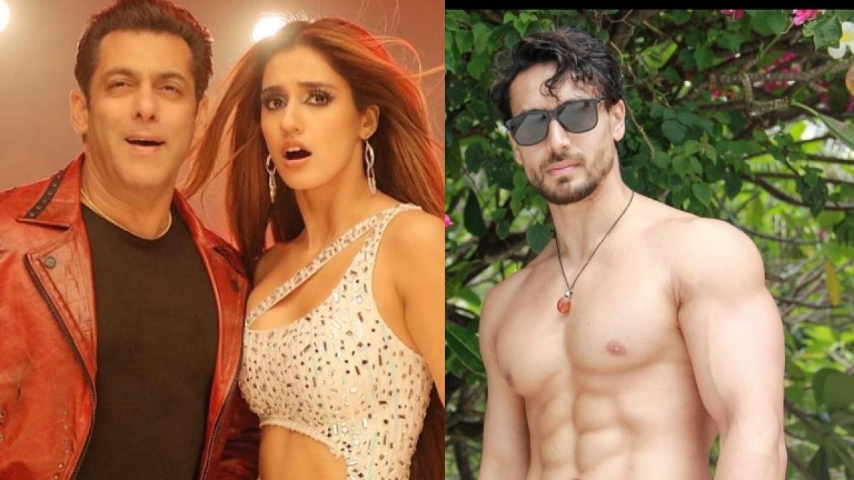 Watch: Disha Patani twerking to 'Seeti Maar' gets a reaction from Tiger Shroff