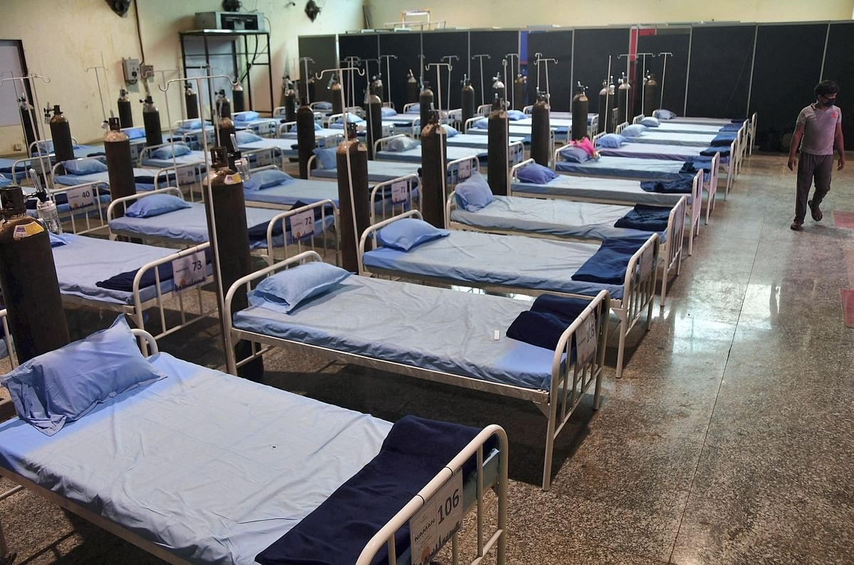 Madhya Pradesh: 500-bed Covid care centre set up in Bhopal district