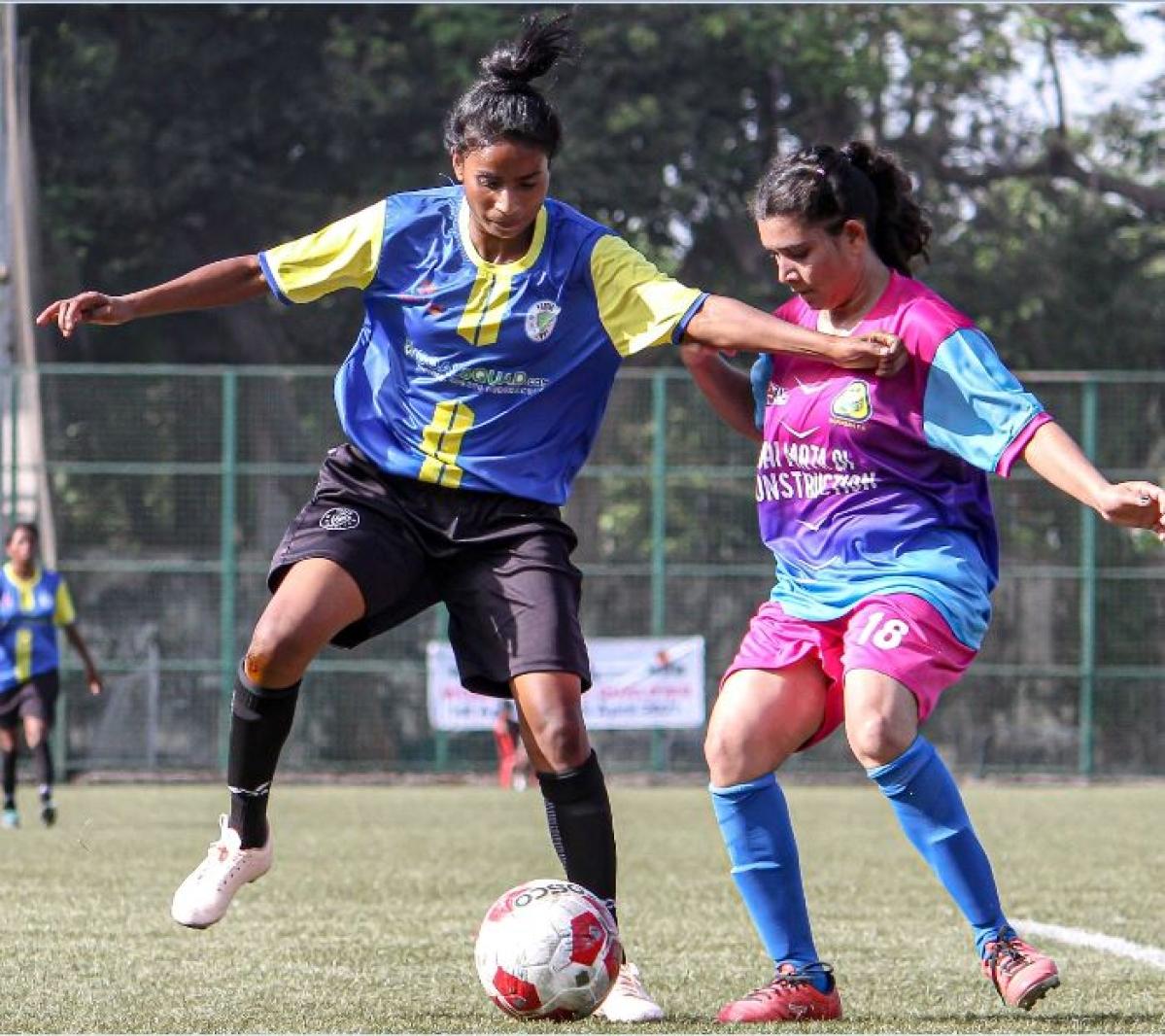 WIFA women's football League: Jyoti shines for Footie First