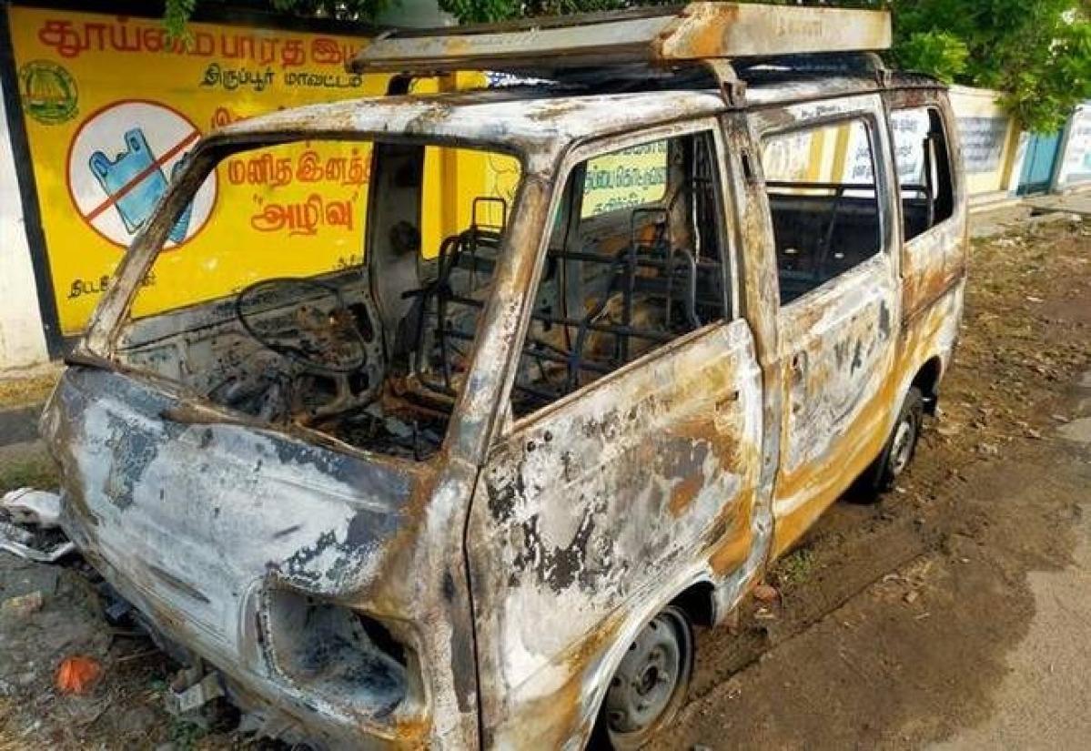 Tamil Nadu woman sets car with hubby ablaze for insurance claim