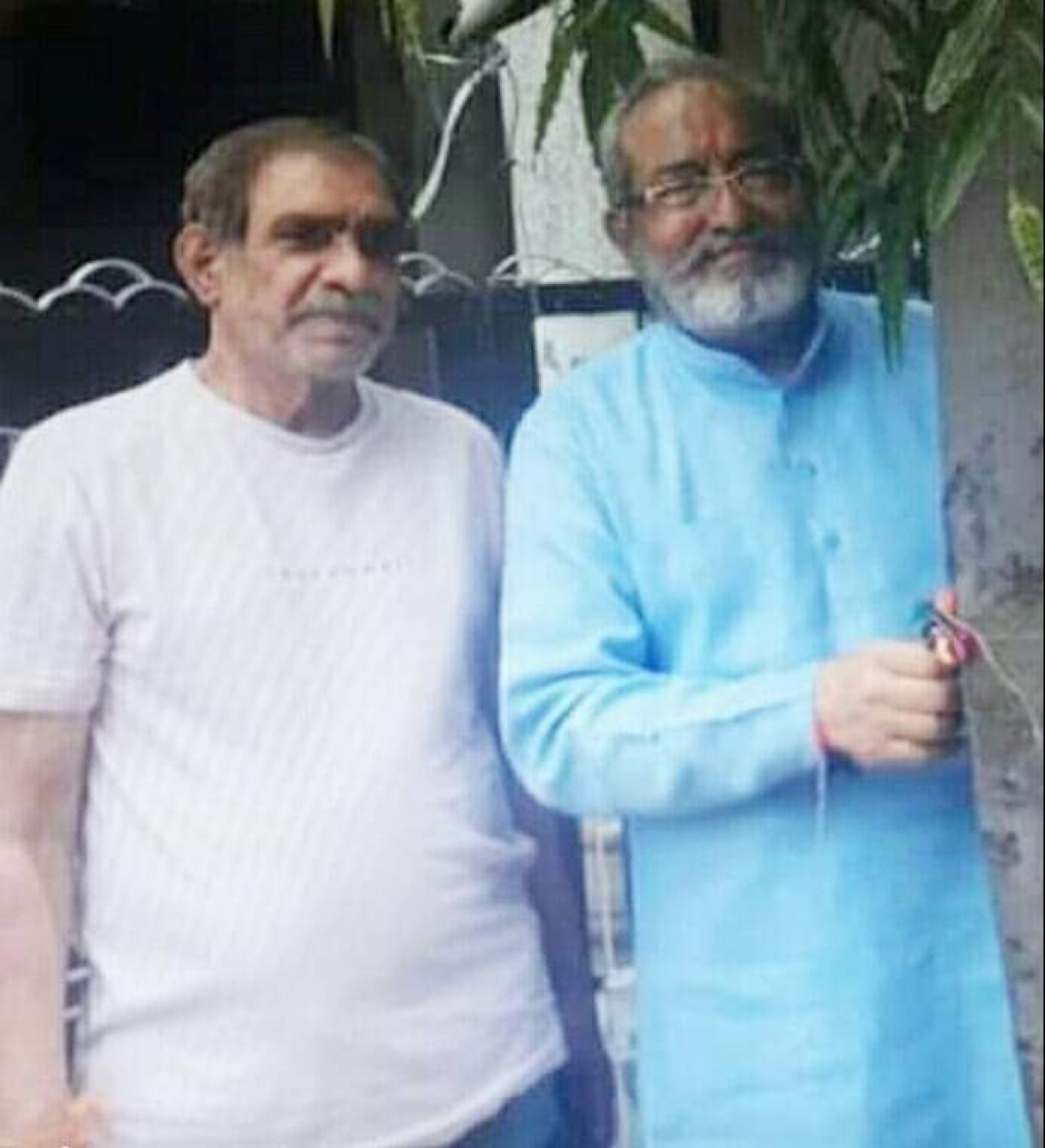 A file photo of Kotwani brothers: Manohar (L) and Shiva (R).