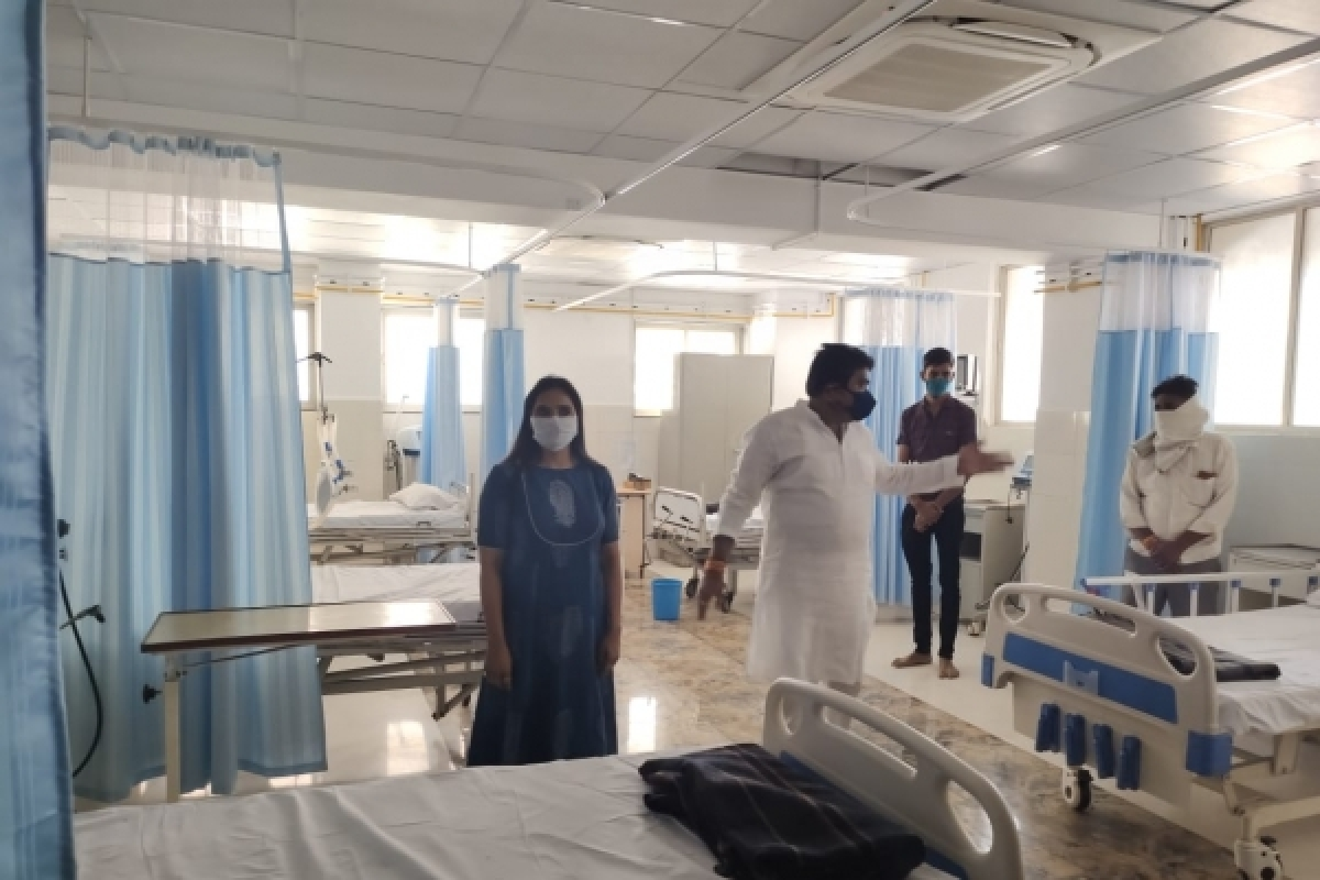 Indore: Hospital politics amid Covid crisis alleges former CM Kamal Nath