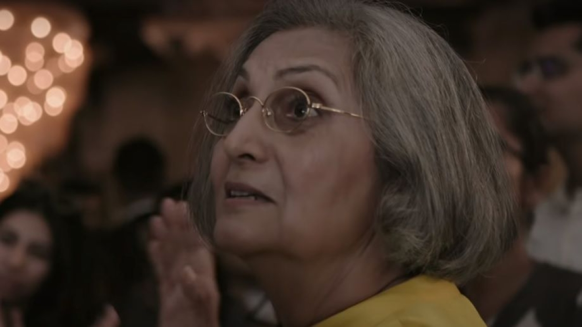 A still from Searching for Sheela trailer