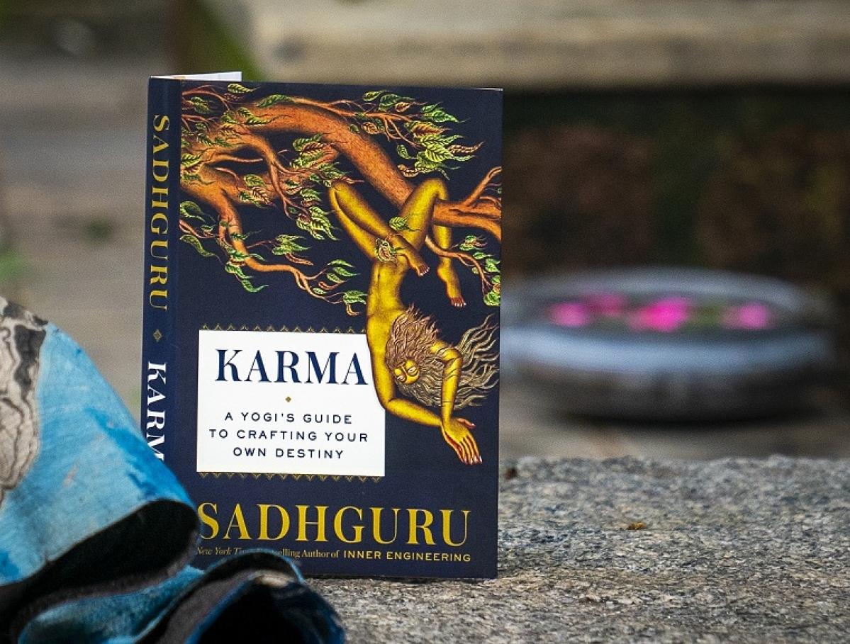 Sadhguru's latest book 'Karma: A Yogi's Guide To Crafting Your Destiny' hits bookstores