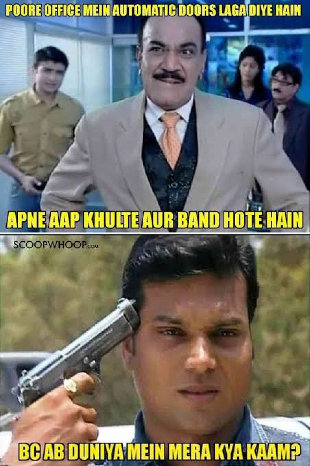 Shivaji Satam Birthday Special: Best CID memes and jokes