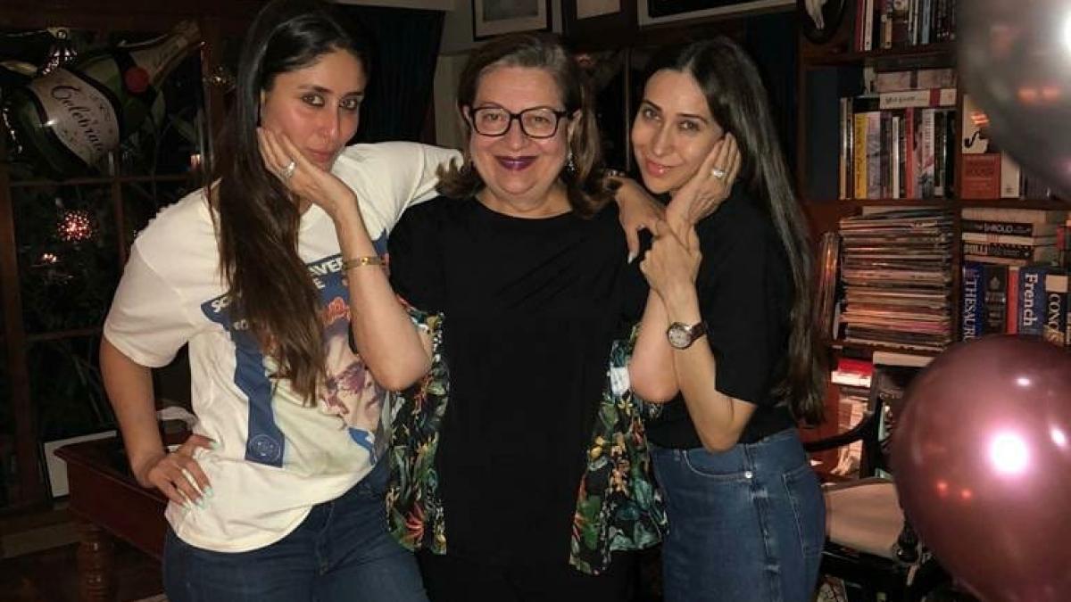 Kareena Kapoor Khan, Karisma Kapoor share sweet birthday wishes for mother Babita