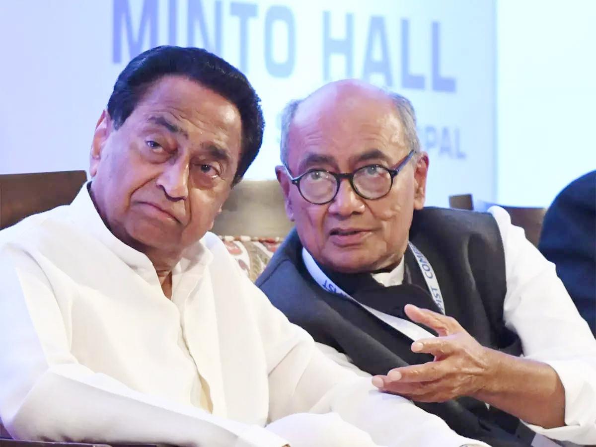 Bhopal: Kamal Nath-Digvijaya combo looted MP, alleges Shivraj