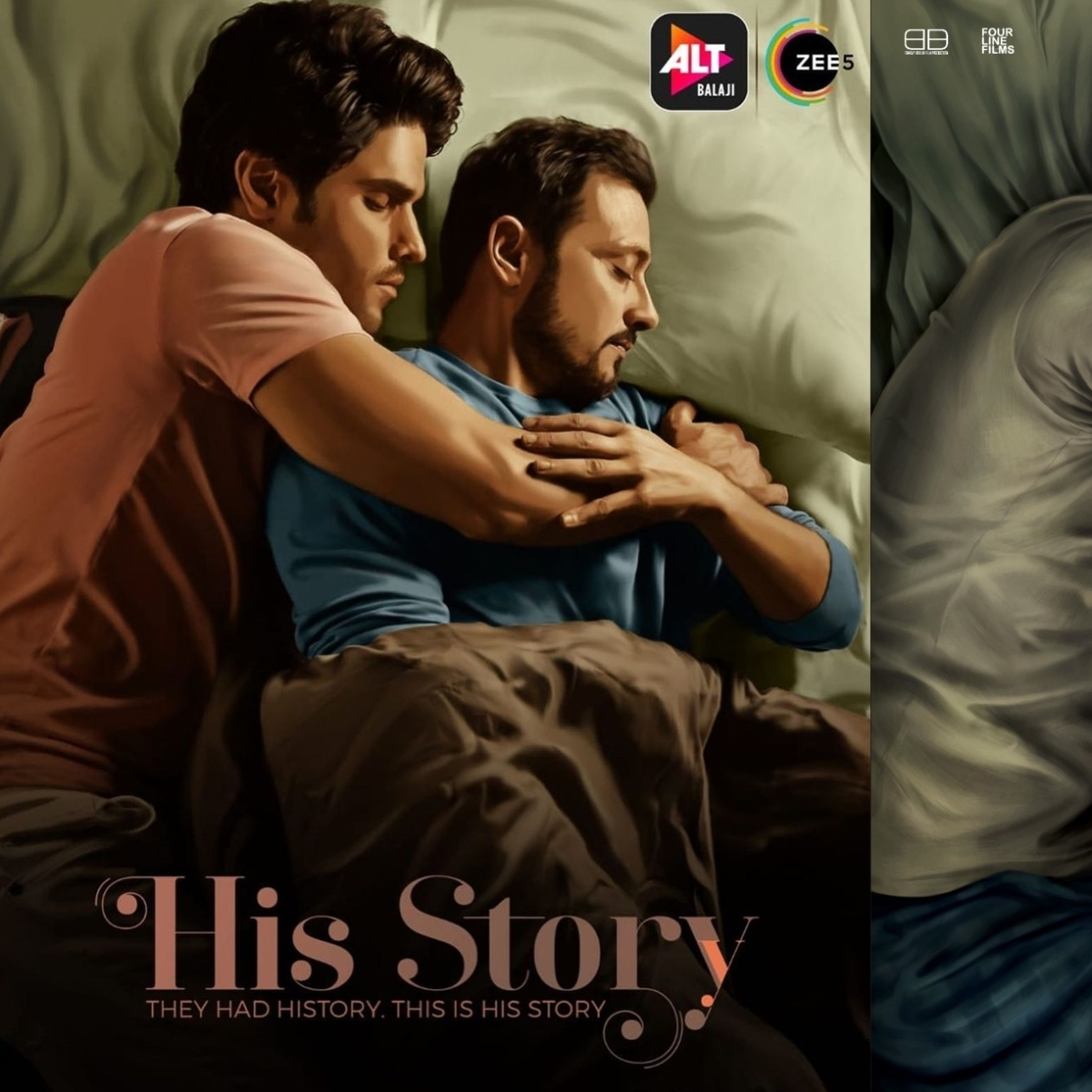 'Ripped off without decency': Ekta Kapoor's same-sex web series 'His Story' poster accused of plagiarism