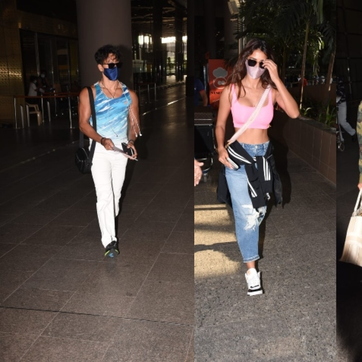 In Pics: Ranbir-Alia and Tiger-Disha arrive in Mumbai after their Maldives 'baecation' amid COVID-19 pandemic