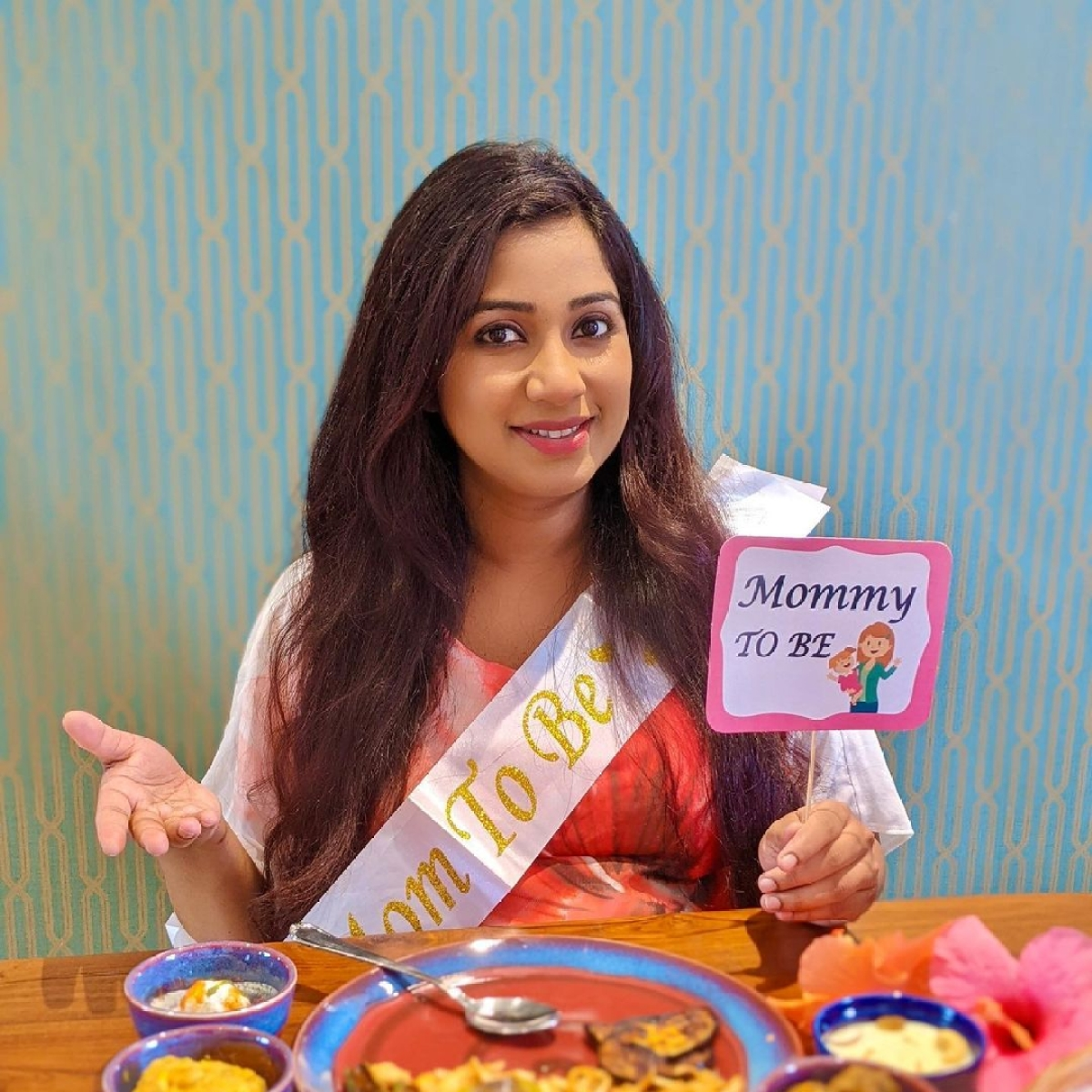 In Pics: Shreya Ghoshal shares glimpses from her 'online surprise baby shower'