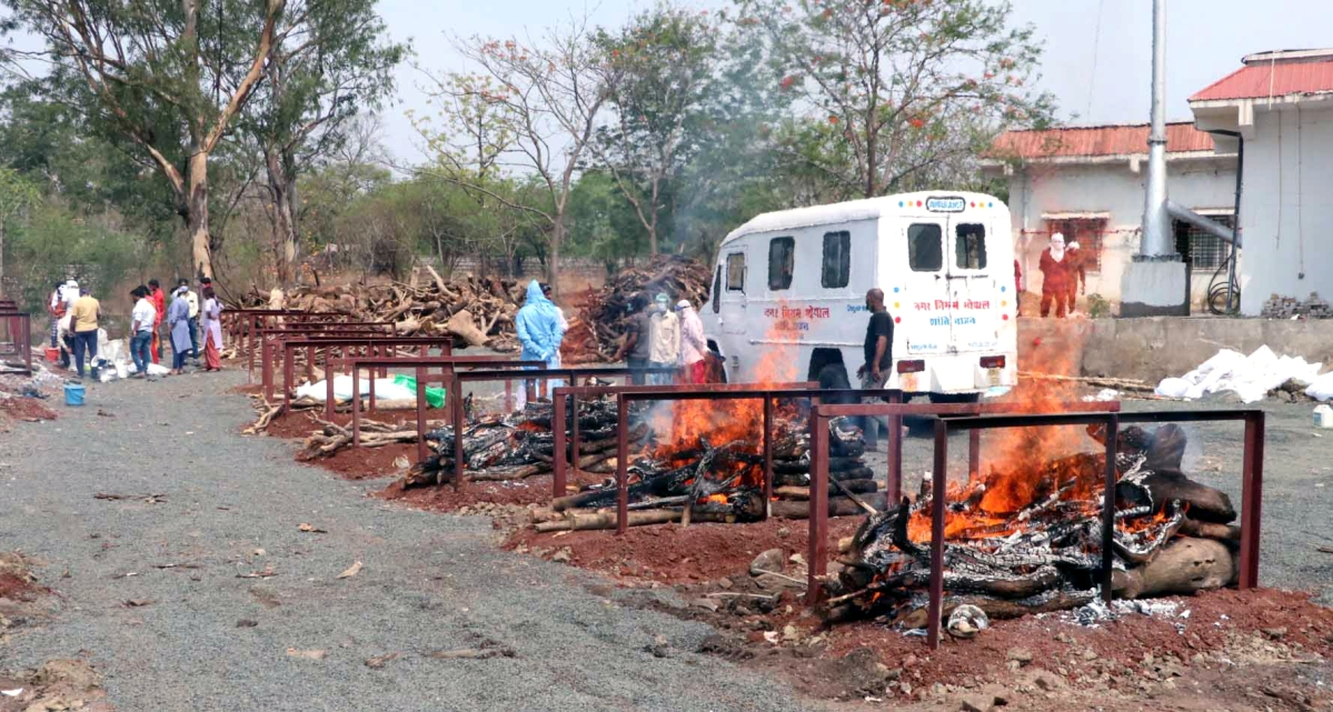 Bhopal: 9,720 new new cases  in a day in MP
