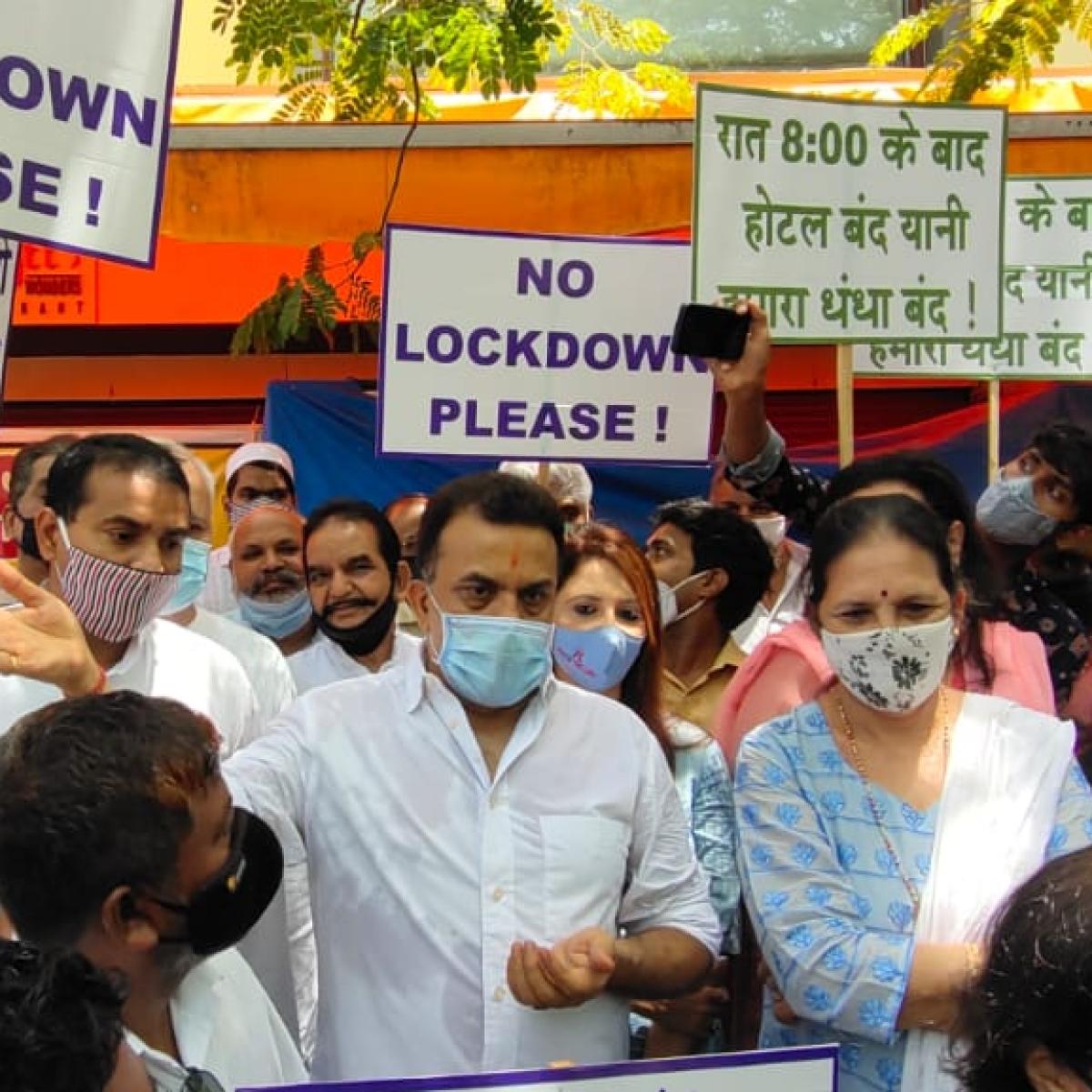 Mumbai: Congress leader Sanjay Nirupam slams MVA for 'ruining' business of restaurants, hotels by imposing night curfew