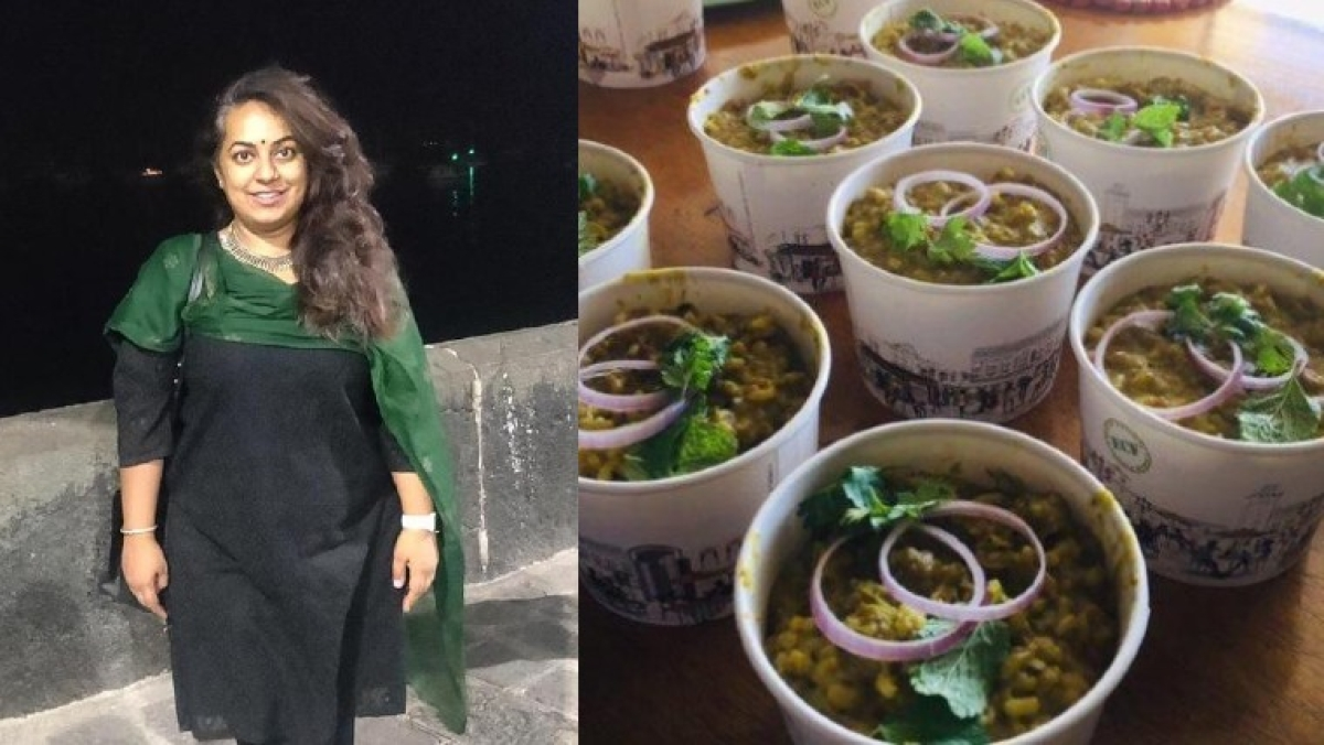 Good Samaritans show the way: Amid COVID-19 pandemic, Pune's Aakanksha Sadekar steps up to provide free home-cooked meals to the needy (In Picture: Meals cooked by fellow volunteer Ronita)