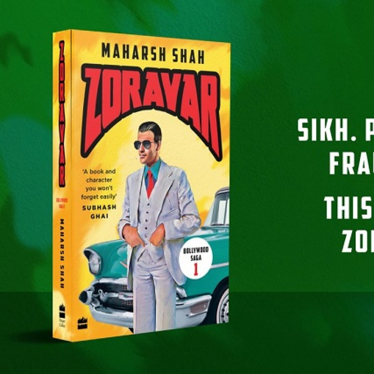 Zoravar - Book One in the Bollywood Saga review: An interesting, filmy thriller