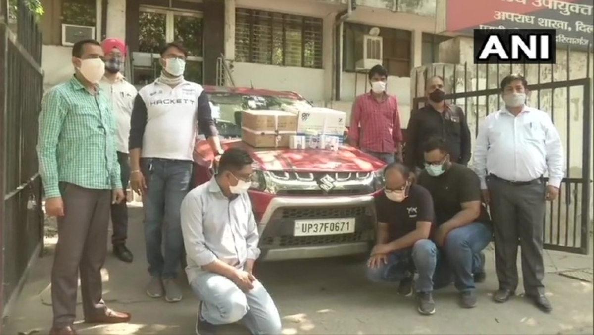 Delhi: Amid shortage, 3 held for black marketing Remdesivir, 100 oxymeters, 48 small-sized oxygen cylinders seized