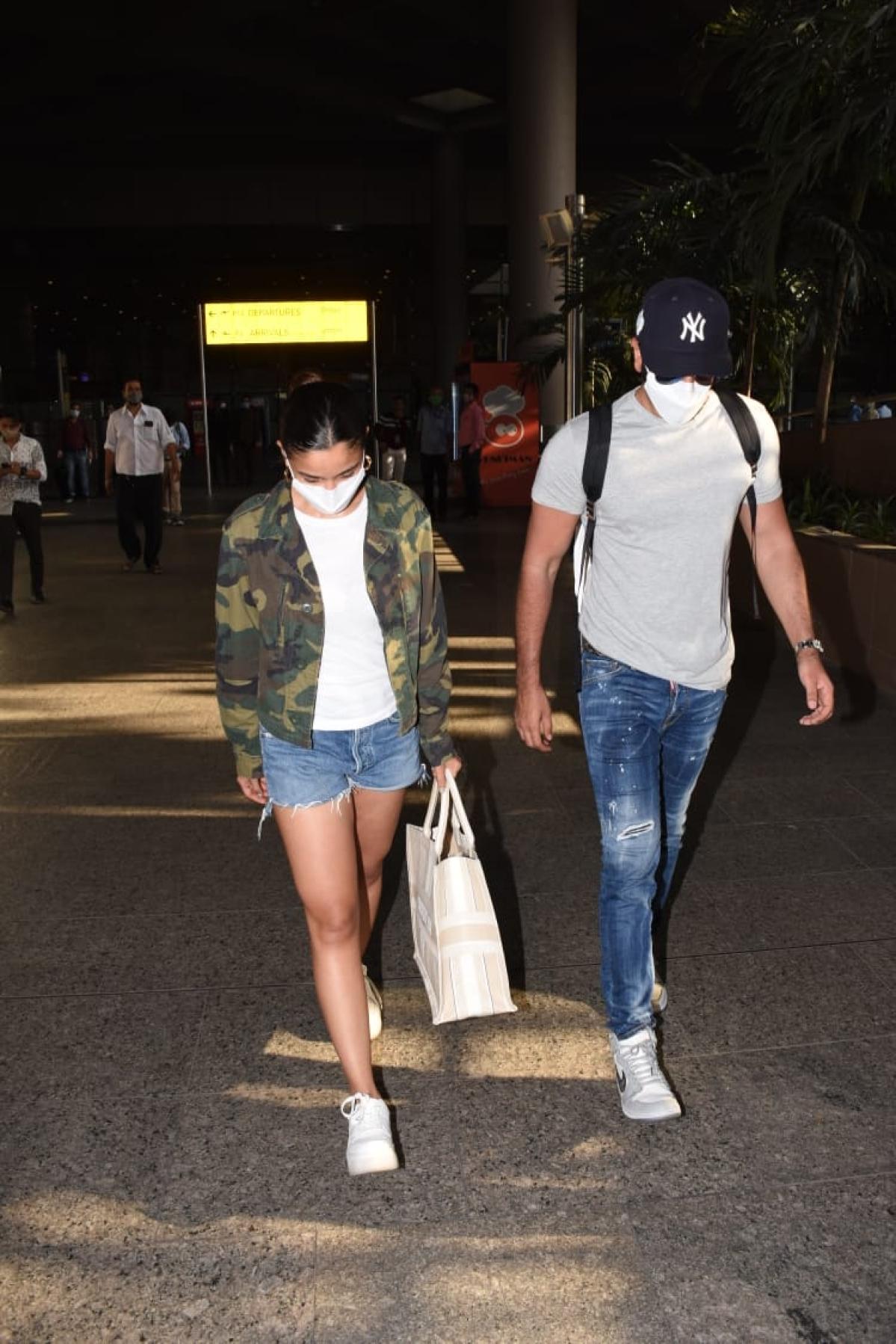 In Pics: Ranbir-Alia and Tiger-Disha arrive in Mumbai after their Maldives 'baecation' amid COVID-19 pandemic