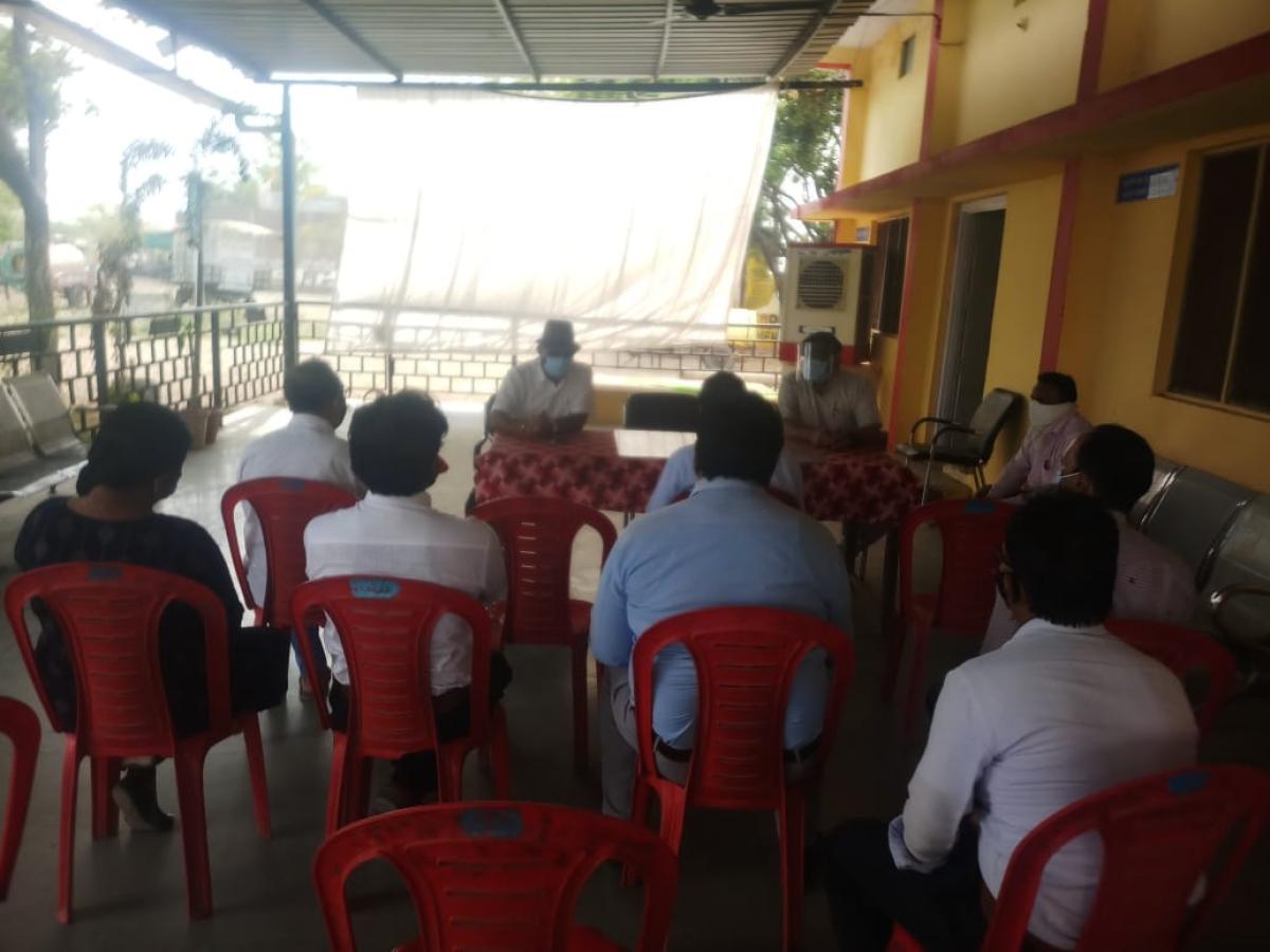 Meeting held in Alot on Saturday