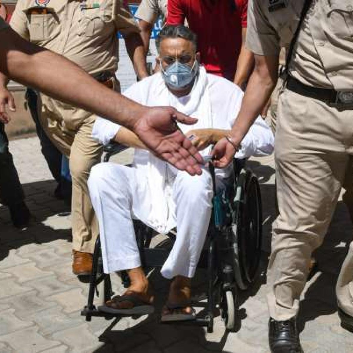 Mukhtar Ansari kept in isolation barrack in Uttar Pradesh's Banda Jail