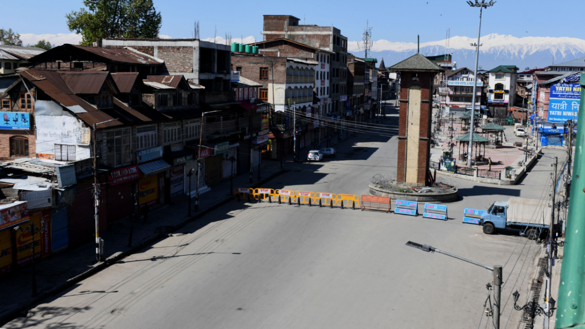 IN PICS: Amid COVID-19 pandemic, weekend curfew imposed in Jammu and Kashmir