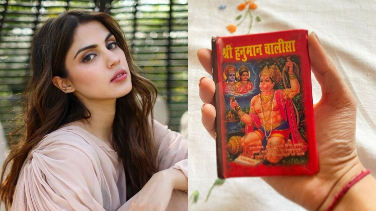 'Give us your blessings to heal': Rhea Chakraborty shares powerful note on Hanuman Jayanti