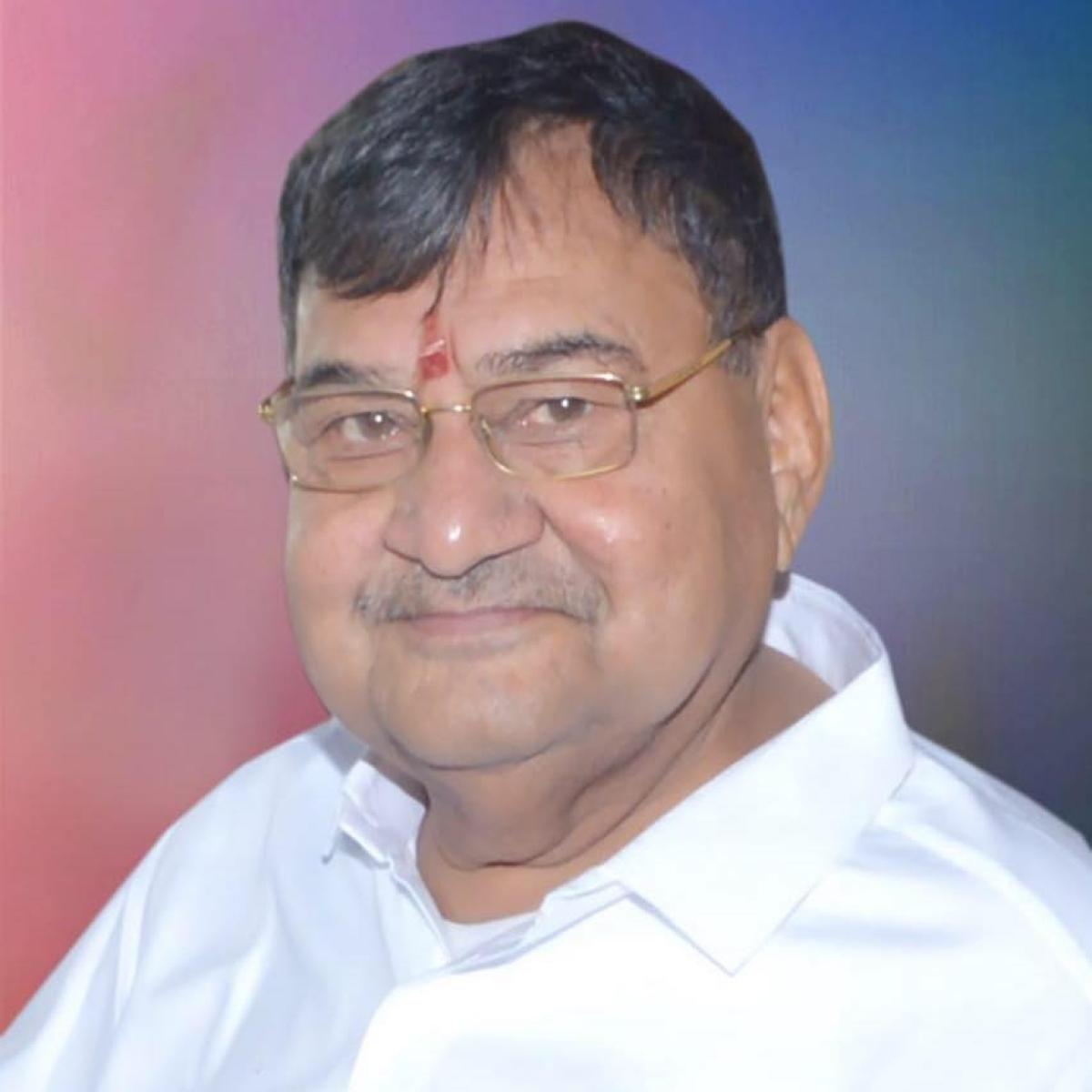 Congress leader and former minister Rameshwar Patel.