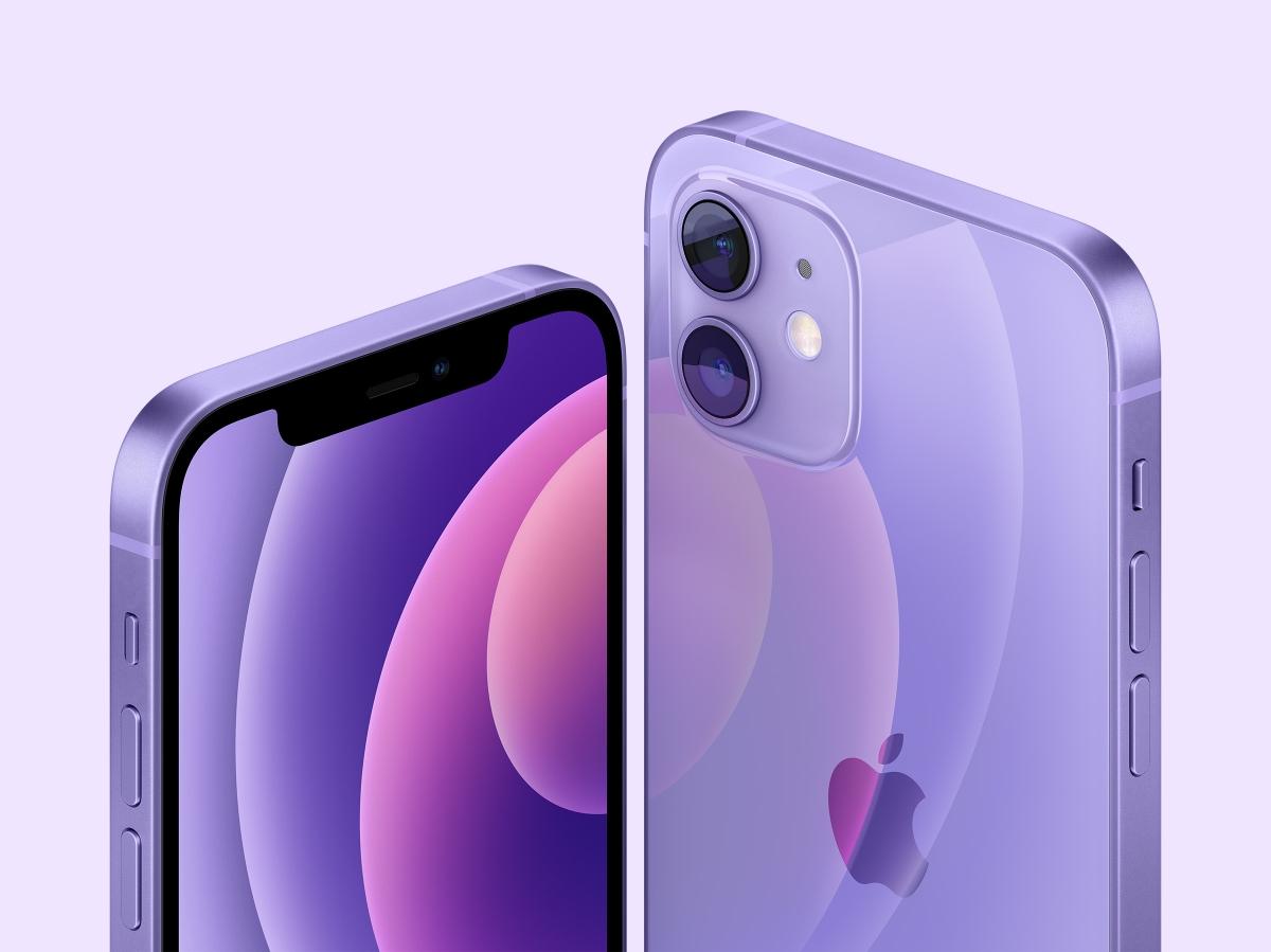Apple's iPhone 12 goes purple