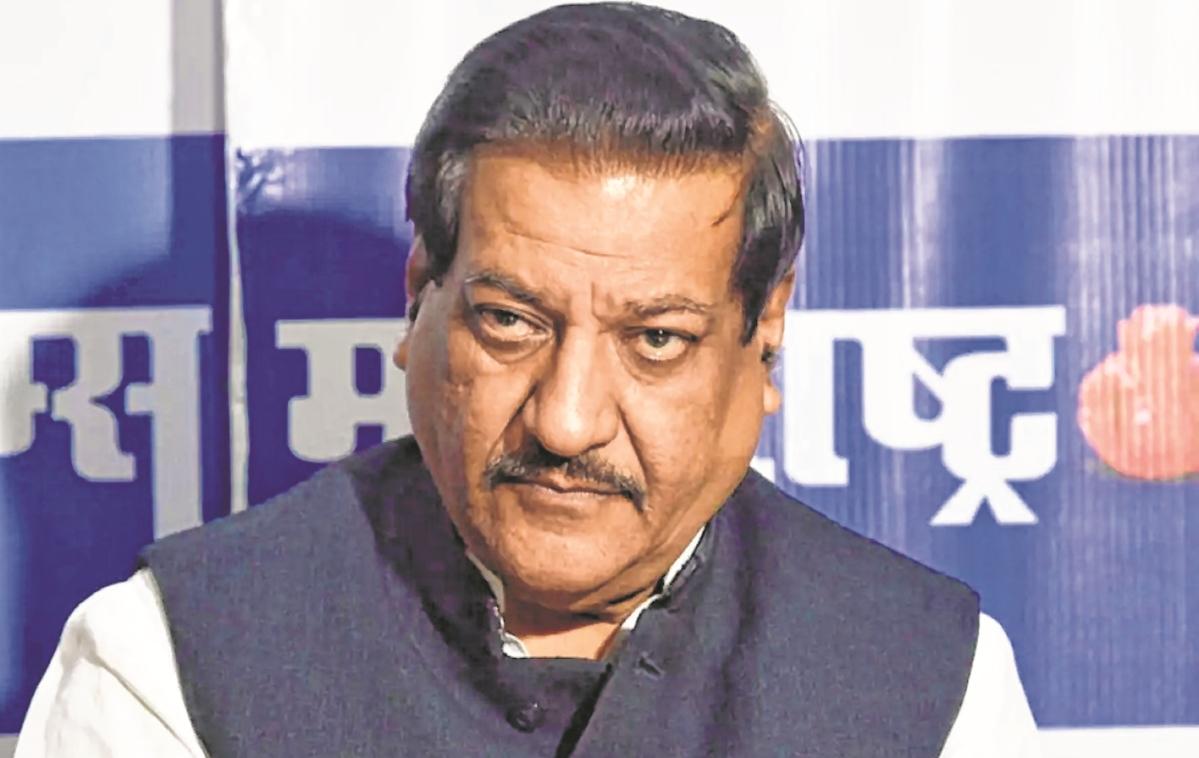 Former Maharashtra CM Prithviraj Chavan accuses Centre of bias in C-19 med supplies