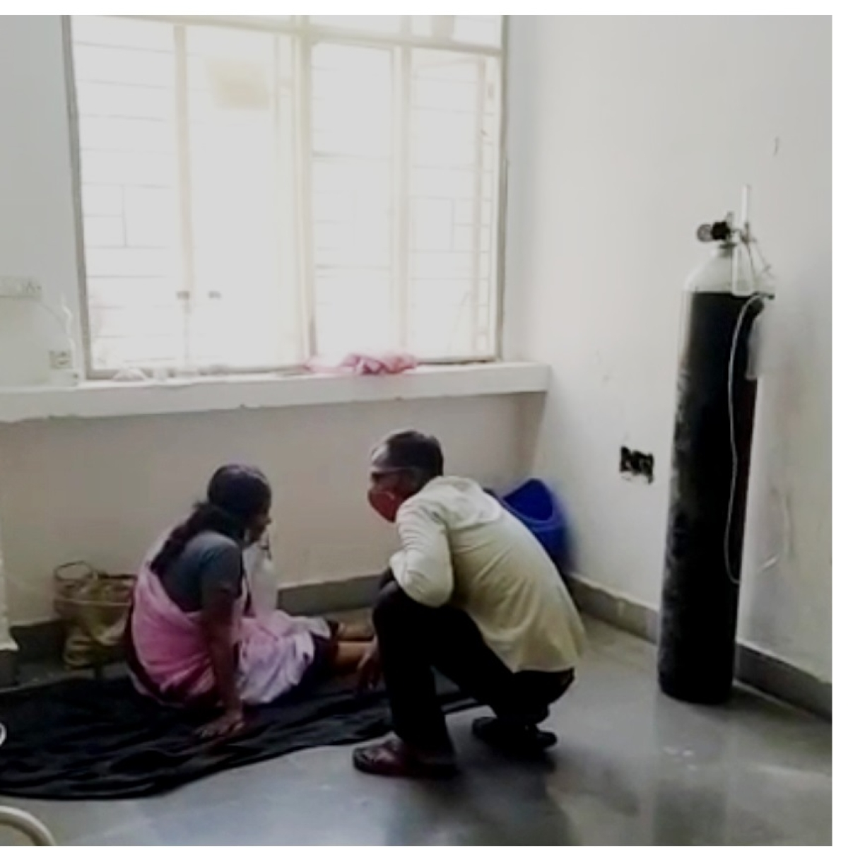 Ujjain: What a mess! Blessing a relative term for patients at Covid-19 hospital