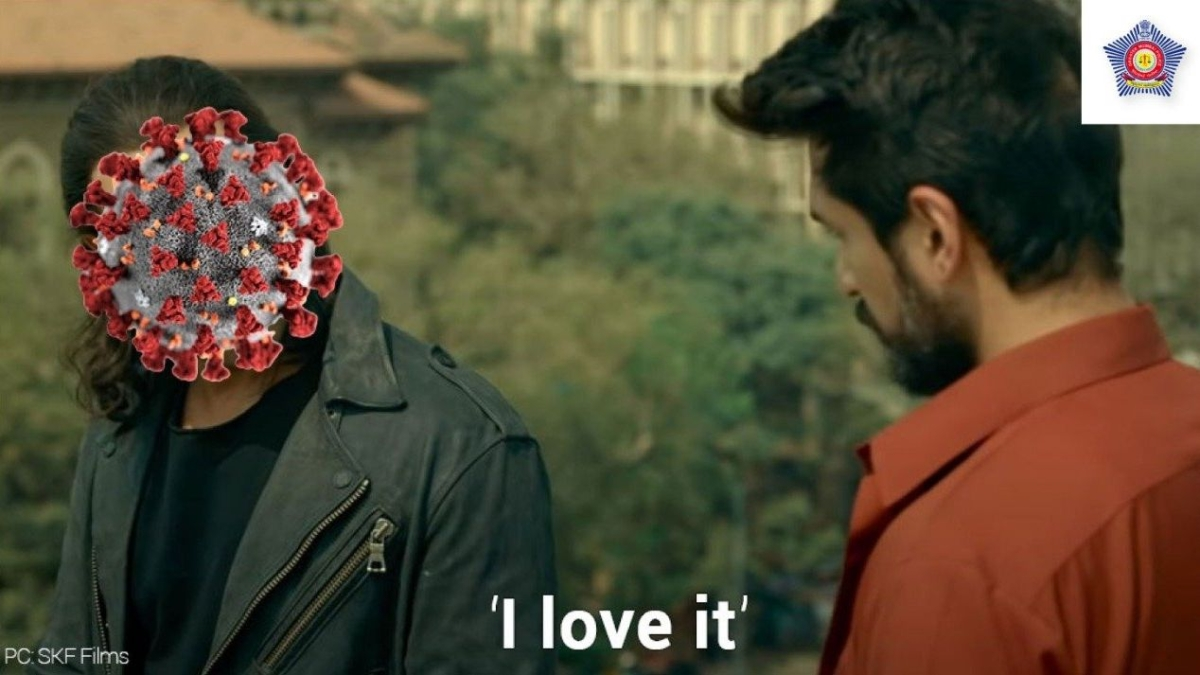 Mumbai Police shares meme inspired by Salman Khan's 'Radhe' trailer to remind citizens about face masks
