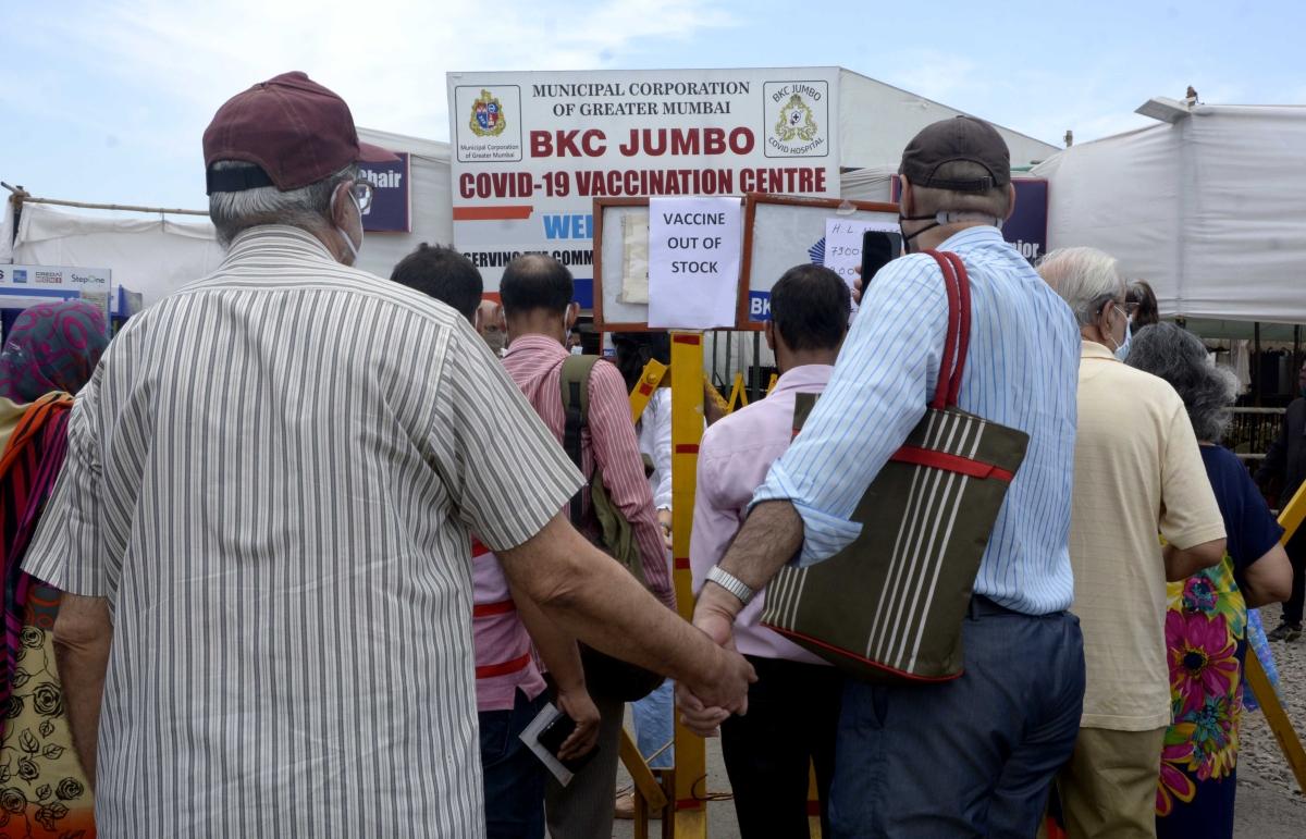 Mumbai: Vaccination at BKC jumbo centre halted due to jab shortage