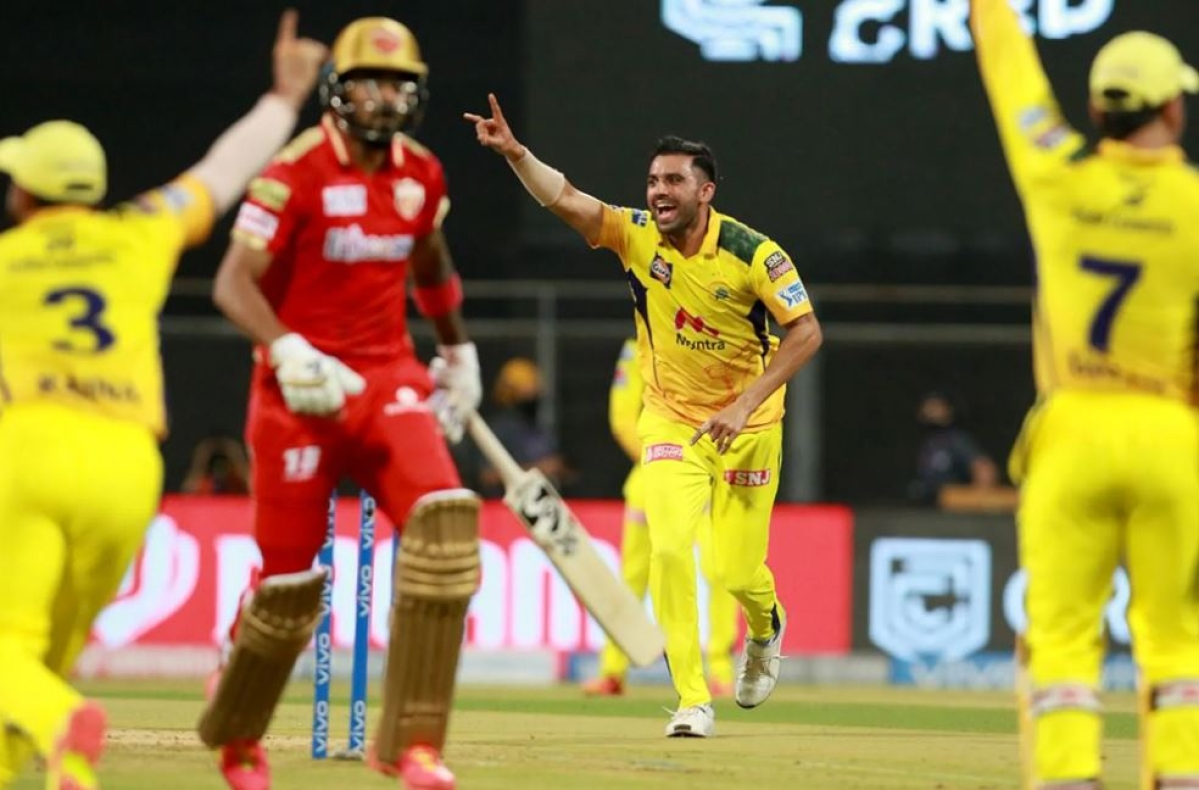 IPL 2021, CSK vs PBKS: Deepak Chahar, Moeen, Du Plessis walk over Punjab Kings as Super Kings win it big