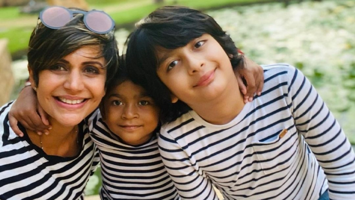 'You piece of s**t': Mandira Bedi slams troll for asking 'from which slumdog centre did you adopt your daughter?'