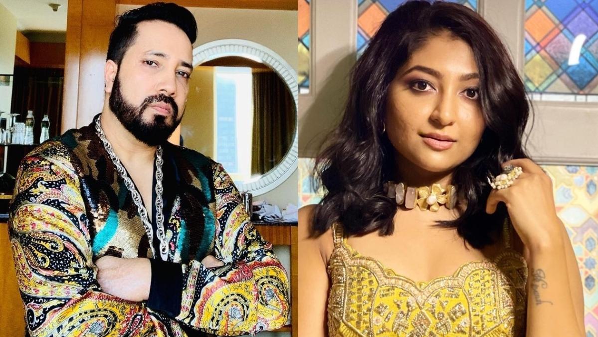 Did Mika Singh propose to 'Udi Udi Jaye' singer Bhoomi Trivedi on national TV?