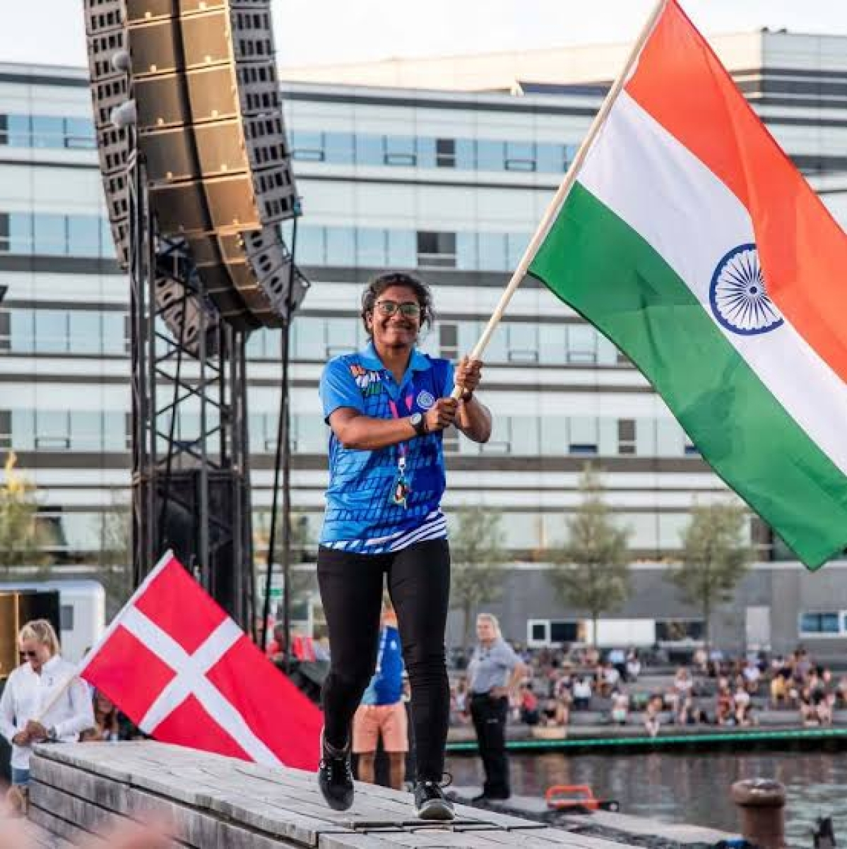 SRM student becomes first Indian woman to qualify for Olympics